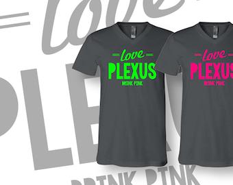 Gray Love Plexus Unisex V-Neck  2027632182015AO