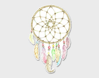 Dreamcatcher 1 Bumper Sticker Decal 6.5""