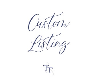 Custom Listing for Audrey Rose Photo Students