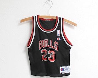 4ff23bbf2c5 5T Vintage 1990s Chicago Bulls Michael Jordan Champion Jersey
