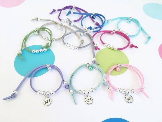 Best Friends Friendship Bracelets Bff Girls Bracelet Party Bag