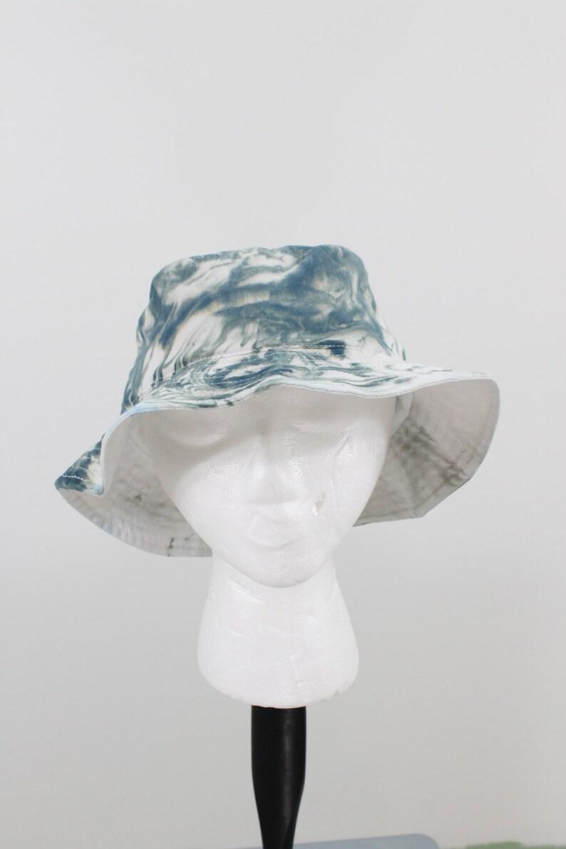 eb3ac8da Tie dyed bucket hat dark gray marble bucket hat unisex | Etsy
