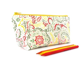 Teacher gift, Pencil case, Zipper pencil bag, Long pencil case, College student gift, Zipper pencil case, Pencil pouch, Pencil zipper bag