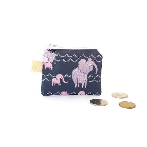 Coin Pouch Coin Purse Cute little Elephant Elefunki