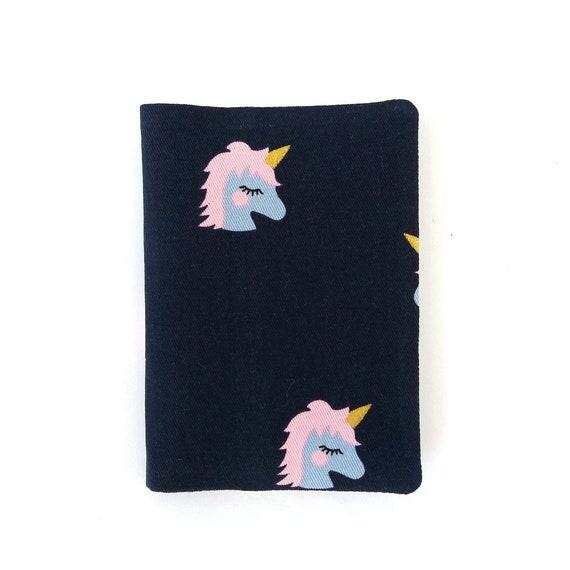 Gili Unicorn Looking Up Travel Wallet Travel Passport /& Document Organizer Zipper