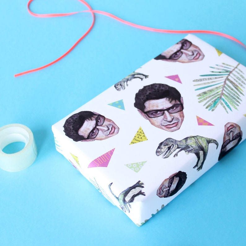 Jeff Goldblum Wrapping Paper image 0