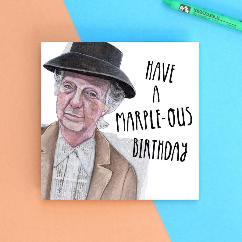 Mrs Marple  Have A Marple-ous Birthday image 0