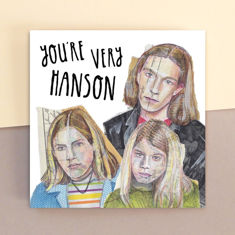 You're Very Hanson image 0