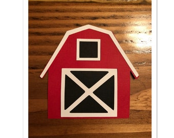 barn party decorations / barn party decor / farm decorations / red barn / farm birthday party / country party