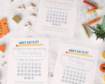 Printable Circle Time Activities, Morning Time, Preschool Morning Basket, Calendar Curriculum, Pre-K Instant Download, Christian Mornings