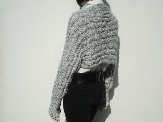 Long Sleeve Bolero-Knitted Shrug-Knit Shrug-Knit Shrug  4dc98d140