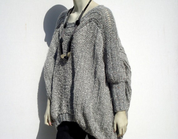 Loose Knit Sweater Chunky Sweater Oversize Sweater Plus Size Etsy