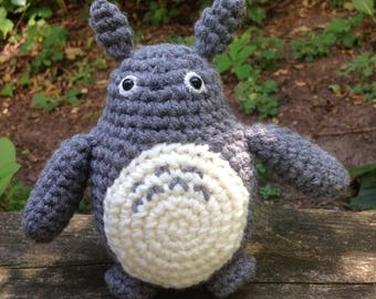 Crochet Totoro - made to order