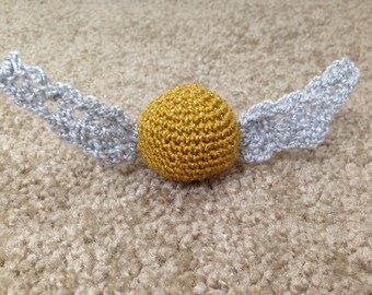Crochet Snitch from Harry Potter