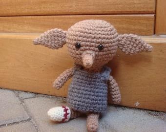 Crochet House Elf