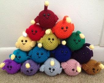Crochet Anglerfish - made to order