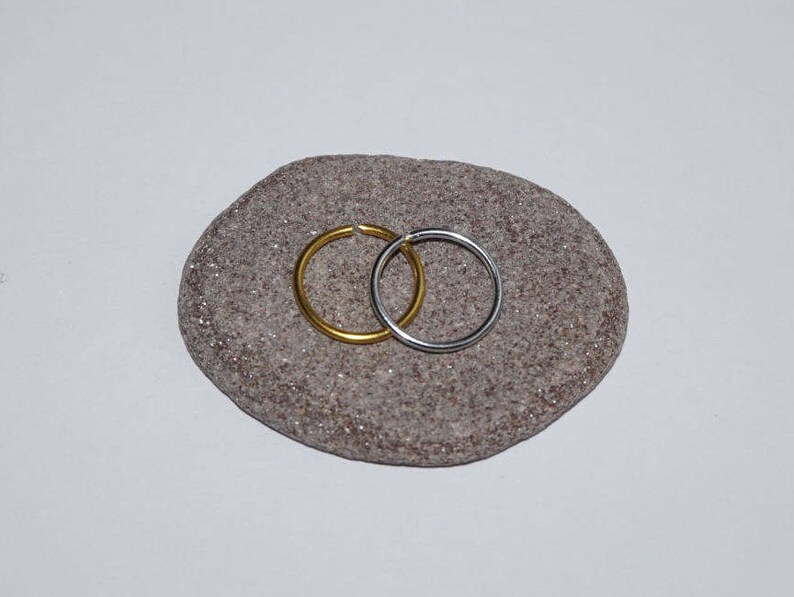 Tiny gold or silver coloured nose ring nose hoop Tarnish Free discreet nose hoop