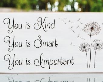 Kind Smart Important Etsy