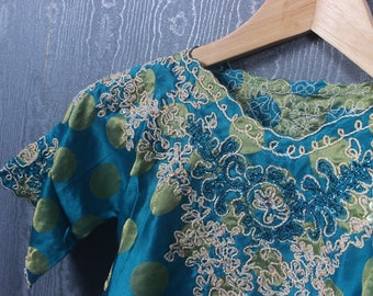 Girls Modest Dresses Girl Maxi Dress Girl Dresses One Size up to 5yo Polka Dot Girls Dress Girls Tosca Green Short Sleeve Maxi Dress