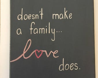 Blended Family Quote Etsy