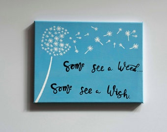 Weed and Wish Quote