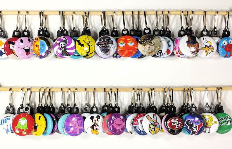 Backpack Zipper Pull Zipper Pull Party Favors Gifts Steampunk Pug Dog in Hat Zipper Pull for Hoodies Jackets Lunch Tote Zipper Charm