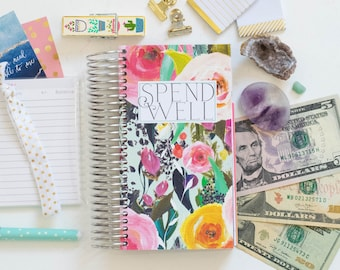 budget planner book etsy