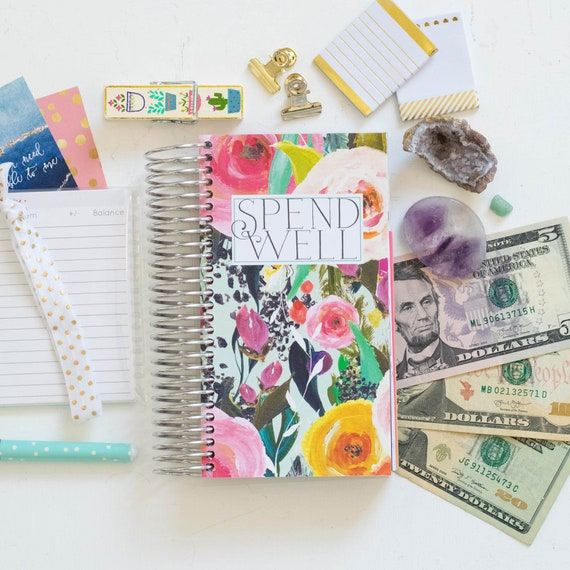 spend well budgeting system sg cash envelope system cash etsy