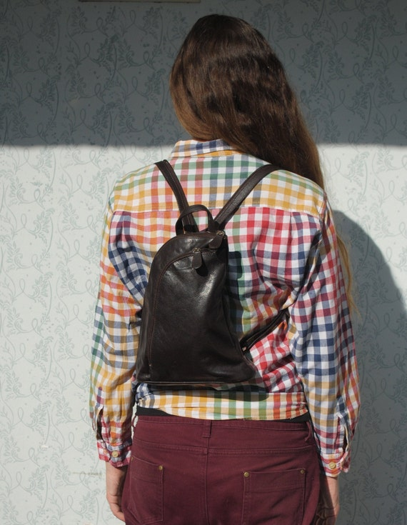 Backpack women, backpack purse, leather backpack p