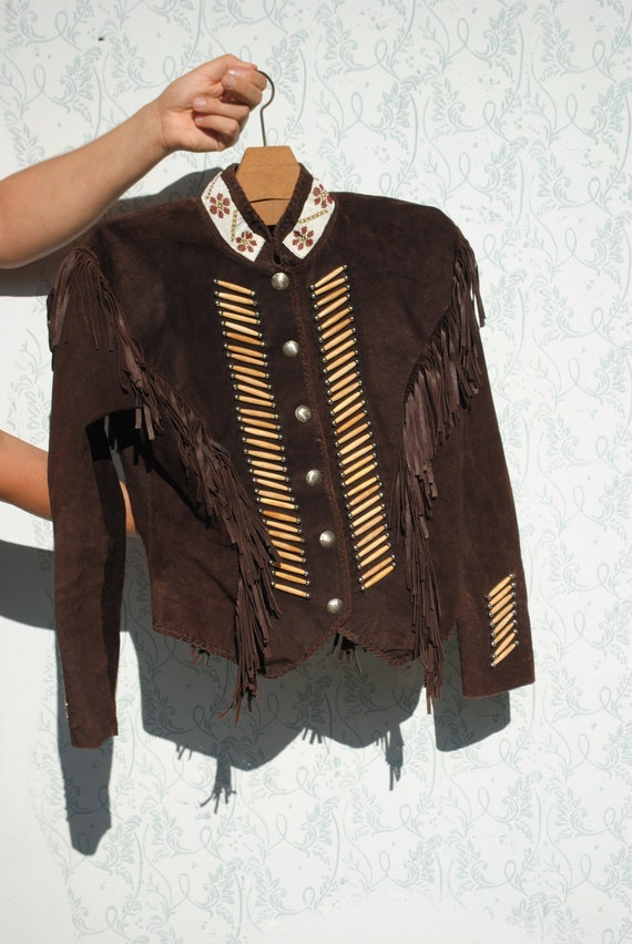 Leather jacket, vintage jacket, jacket, brown leat