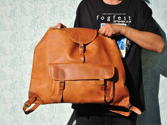 Backpack men, backpack leather, mens backpack, lar