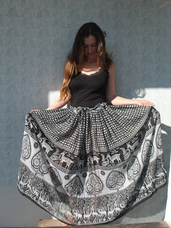Maxi skirt, maxi skirt for women, Indian maxi ski… - image 8