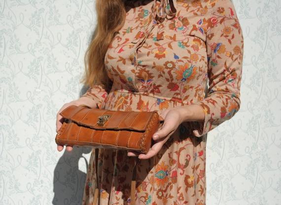 Leather bag, small shoulder bag, leather shoulder