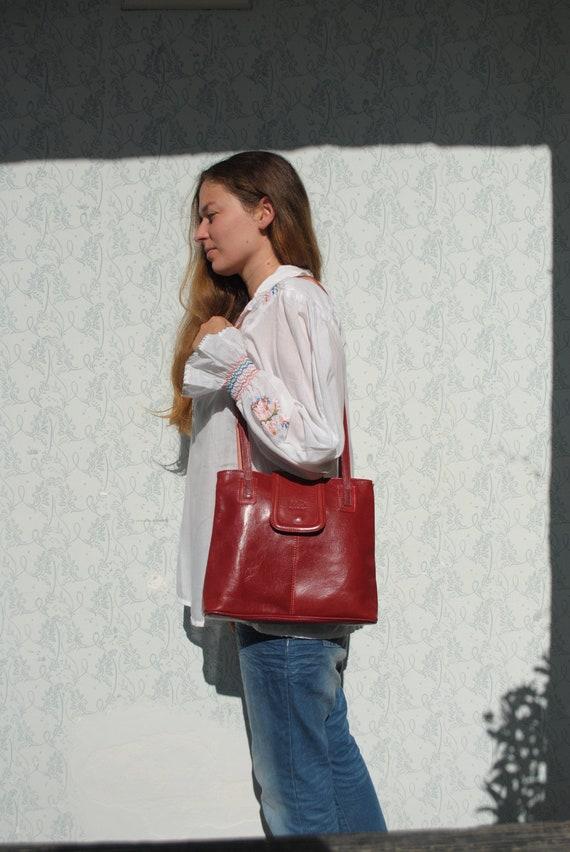 Leather bag, shoulder bag, leather bag women, leat
