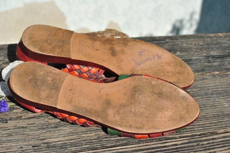 leather sandals Sandals women woven Brazilian leather sandals