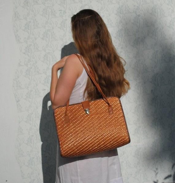 Wicker bag, wicker purse, handbags, straw bag, sum