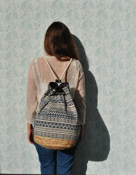 Women backpack, vintage backpack, womens backpack,