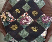 Quilted Unfinished Table Runner 55 1 4 quot Long