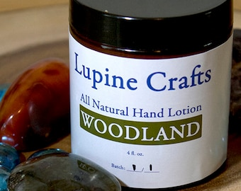 All Natural Woodland Lotion