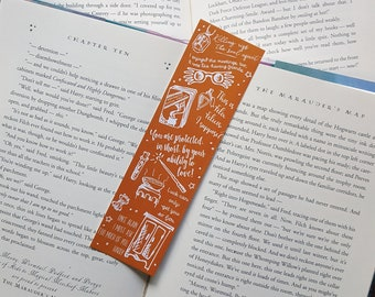 Harry Potter and the Half-Blood Prince inspired bookmark  - Bookmark