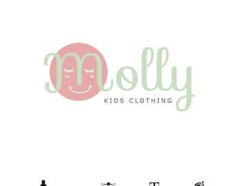 Logo kids children baby