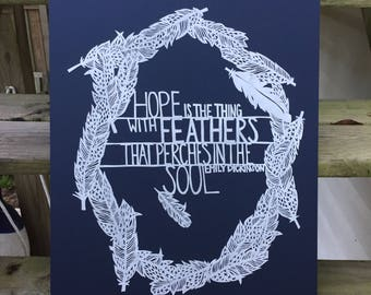SALE: Hope is the Thing with Feathers