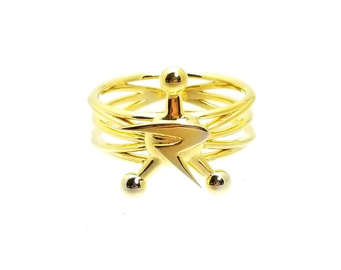 COR 18K Gold Plated Ring