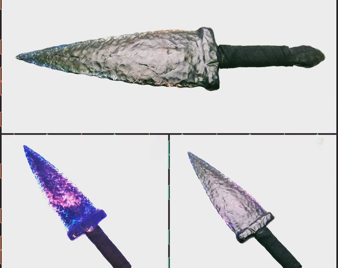 "13"" GOT Replica Dragon Glass Dagger"