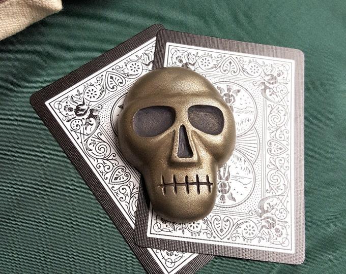 Skull Poker Card Protector