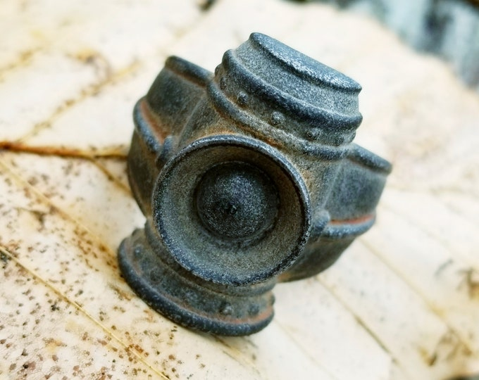 GAAS Lantern Ring (Aluminum with Vintage Patina)