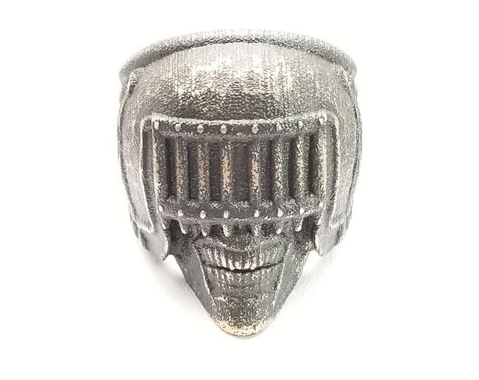 Death Skull Biker Ring