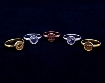 Captain Planet and the Planeteers Ring Set