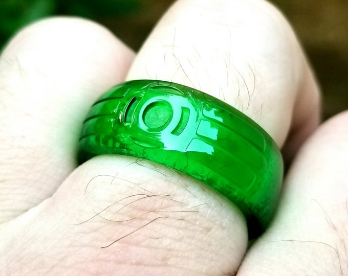 S-Baz Green Ring of Willpower