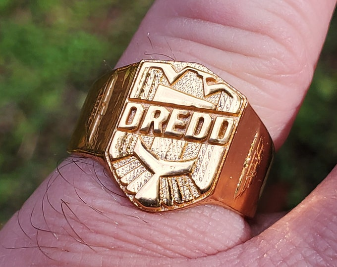 Judge Badge Ring